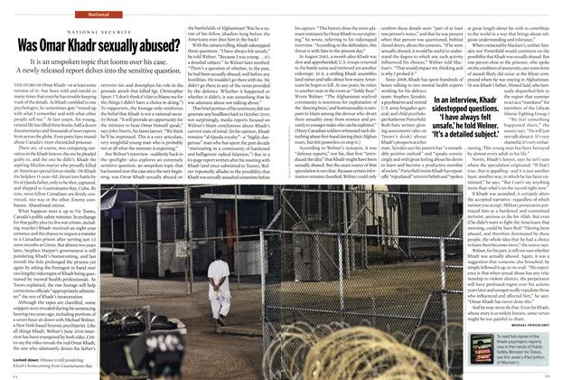 Article Preview: Was Omar Khadr sexually abused?, SEPT. 10, 2012 2012 | Maclean's