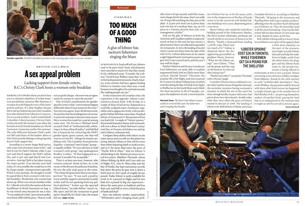 Article Preview: TOO MUCH OF A GOOD THING, SEPT. 10, 2012 2012 | Maclean's