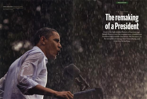 Article Preview: The remaking of a President, SEPT. 10, 2012 2012 | Maclean's