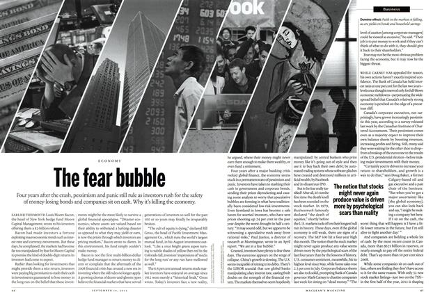 Article Preview: The fear bubble, SEPT. 10, 2012 2012 | Maclean's