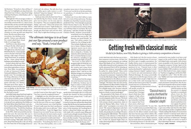 Article Preview: Getting fresh with classical music, SEPT. 10, 2012 2012 | Maclean's