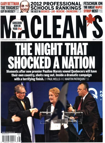 Issue: - SEPT. 17, 2012 | Maclean's