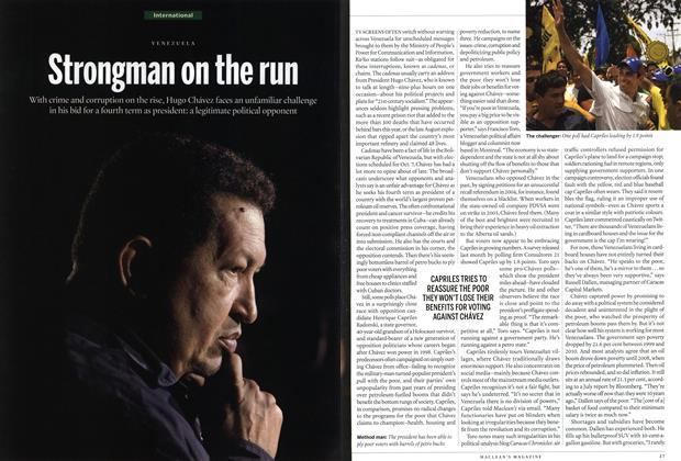 Article Preview: Strongman on the run, SEPT. 17, 2012 2012 | Maclean's