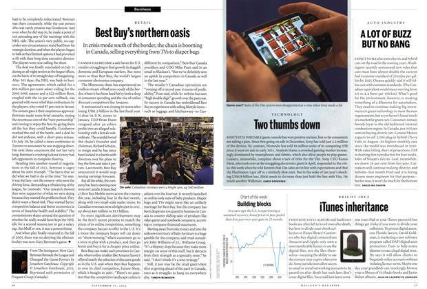 Article Preview: A LOT OF BUZZ BUT NO BANG, SEPT. 17, 2012 2012 | Maclean's