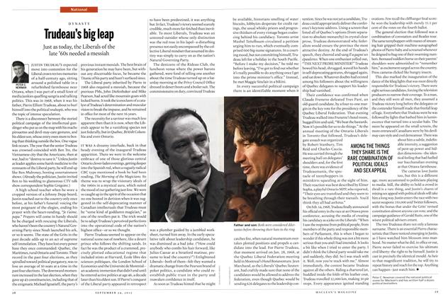 Article Preview: Trudeau's big leap, SEPT. 24th 2012 | Maclean's