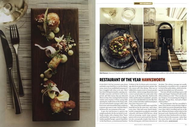 Article Preview: RESTAURANT OF THE YEAR HAWKSWORTH, SEPT. 24th 2012 | Maclean's