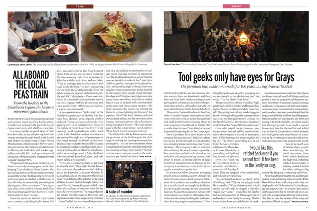 Article Preview: Tool geeks only have eyes for Grays, SEPT. 24th 2012 | Maclean's