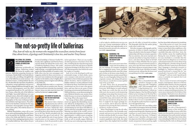 Article Preview: The not-so-pretty life of ballerinas, SEPT. 24, 2012 2012 | Maclean's