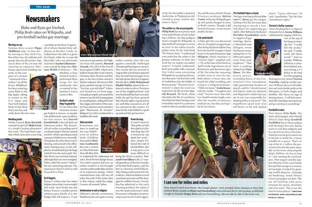 Article Preview: Newsmakers, SEPT. 24th 2012 | Maclean's