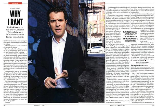 Article Preview: WHY I RANT, October 2012 | Maclean's
