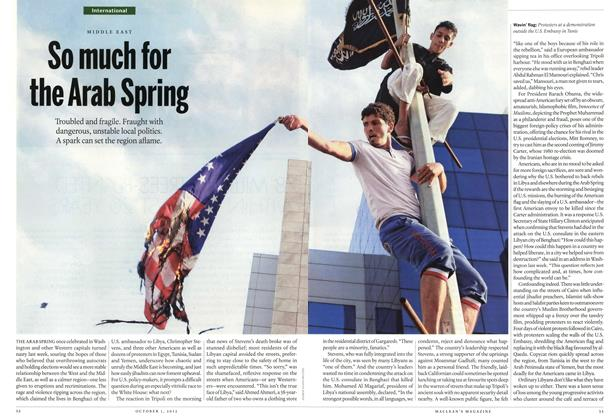 Article Preview: So much for the Arab Spring, October 2012 | Maclean's
