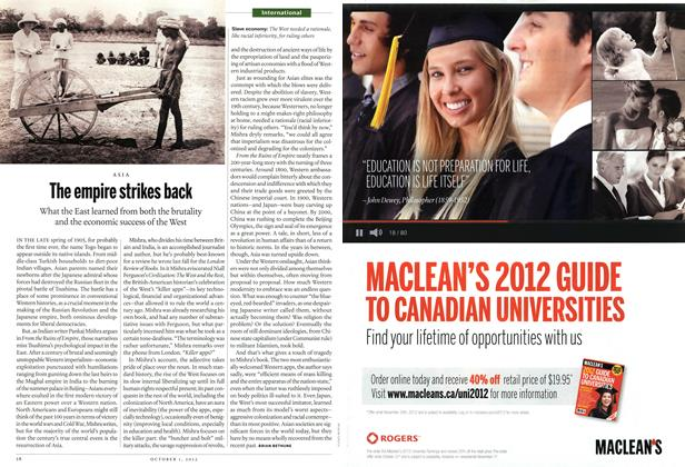 Article Preview: The empire strikes back, October 2012 | Maclean's