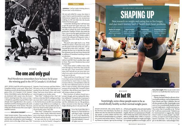 Article Preview: Fat but fit, October 2012 | Maclean's
