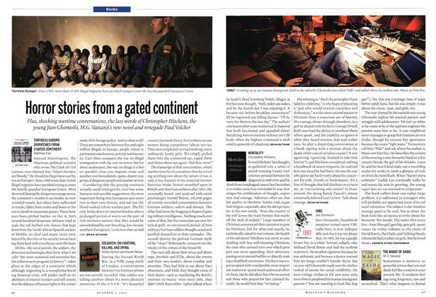 Article Preview: Horror stories from a gated continent, October 2012 | Maclean's