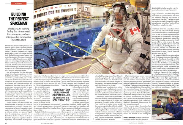 Article Preview: BUILDING THE PERFECT SPACEMAN, October 2012 | Maclean's