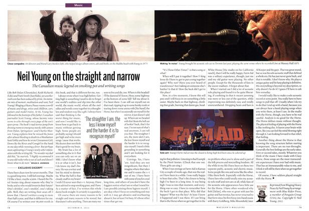 Article Preview: Neil Young on the straight and narrow, October 2012 | Maclean's