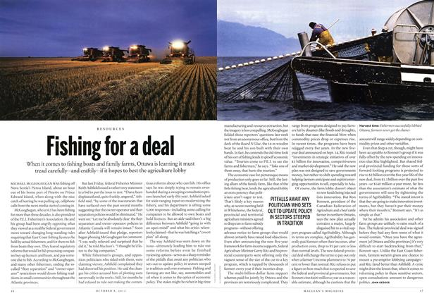 Article Preview: Fishing for a deal, October 2012 | Maclean's