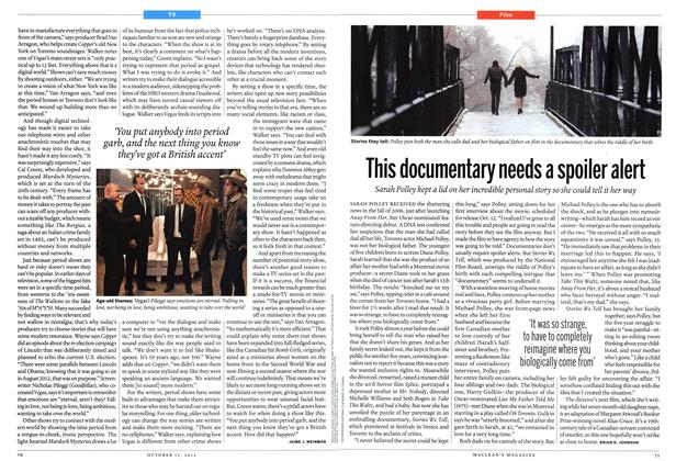 Article Preview: This documentary needs a spoiler alert, October 2012 | Maclean's