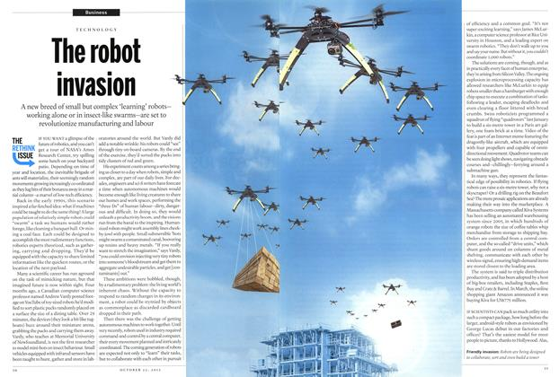 Article Preview: The robot invasion, October 2012 | Maclean's