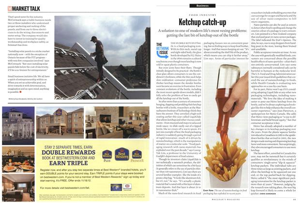 Article Preview: Ketchup catch-up, October 2012 | Maclean's