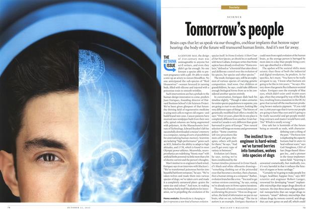 Article Preview: Tomorrow's people, October 2012 | Maclean's