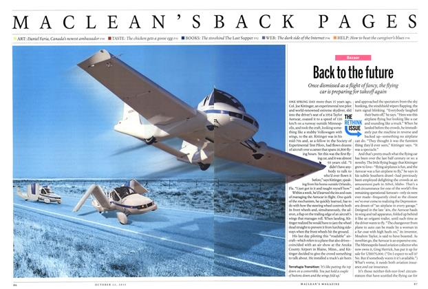 Article Preview: Back to the future, October 2012 | Maclean's