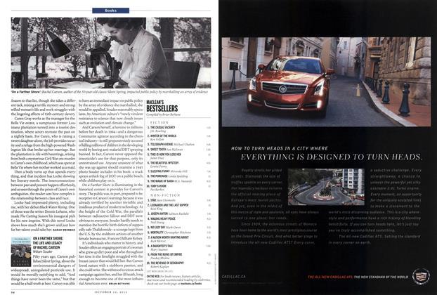 Article Preview: MACLEAN'S BESTSELLERS, October 2012   Maclean's