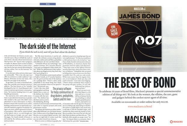 Article Preview: The dark side of the Internet, October 2012 | Maclean's