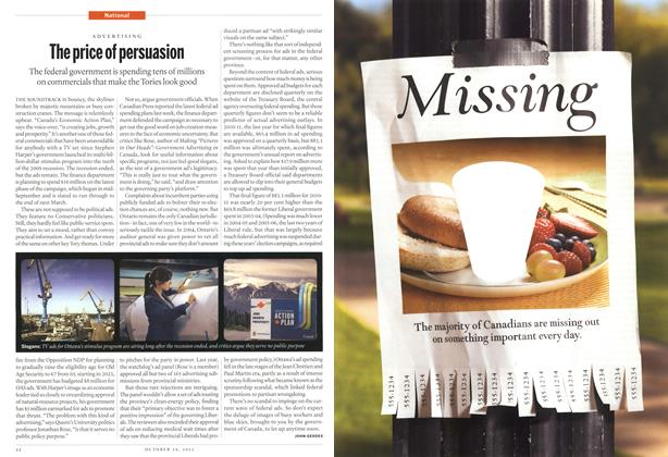 Article Preview: The price of persuasion, October 2012 | Maclean's