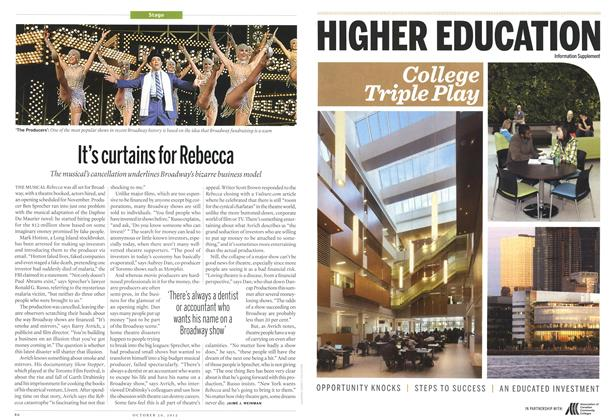 Article Preview: It's curtains for Rebecca, October 2012 | Maclean's