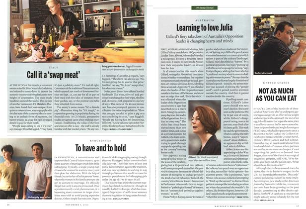 Article Preview: Learning to love Julia, November 2012 | Maclean's