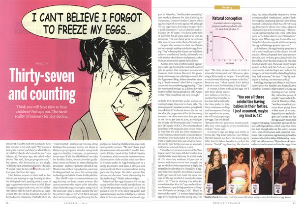 Article Preview: Thirty-seven and counting, November 2012 | Maclean's