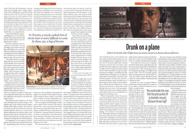 Article Preview: Drunk on a plane, November 2012 | Maclean's