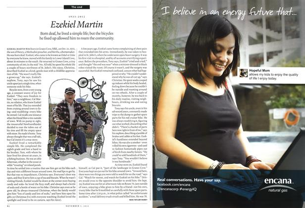 Article Preview: Ezekiel Martin, November 2012 | Maclean's