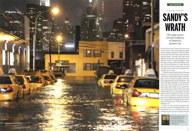 Article Preview: SANDY'S WRATH, November 2012 | Maclean's