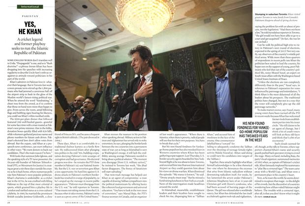 Article Preview: YES, HE KHAN, November 2012 | Maclean's