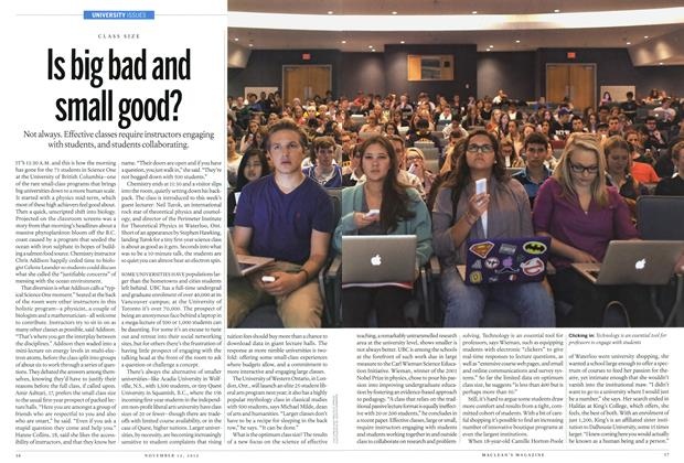 Article Preview: Is big bad and small good?, November 2012 | Maclean's
