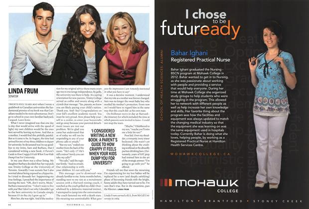 Article Preview: LINDA FRUM, November 2012 | Maclean's