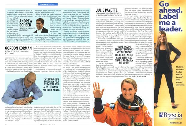 Article Preview: JULIE PAYETTE, November 2012 | Maclean's