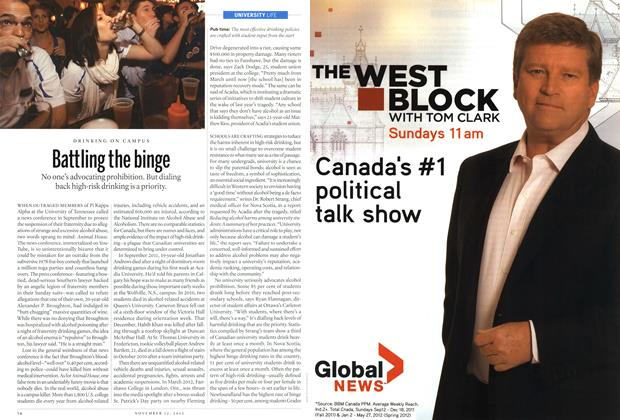 Article Preview: Battling the binge, November 2012 | Maclean's