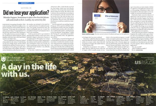 Article Preview: Did we lose your application?, November 2012 | Maclean's