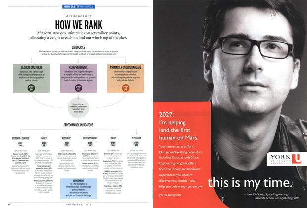 Article Preview: HOW WE RANK, November 2012 | Maclean's