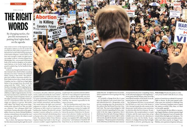 Article Preview: THE RIGHT WORDS, November 2012 | Maclean's
