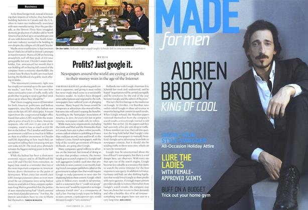 Article Preview: Profits? Just google it., November 2012 | Maclean's