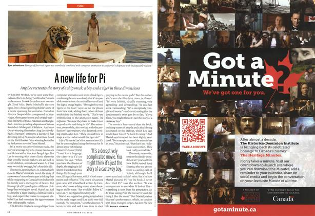 Article Preview: A new life for Pi, November 2012 | Maclean's