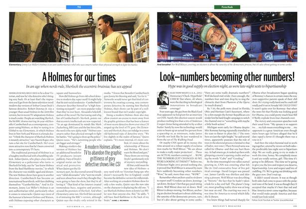 Article Preview: A Holmes for our times, November 2012 | Maclean's