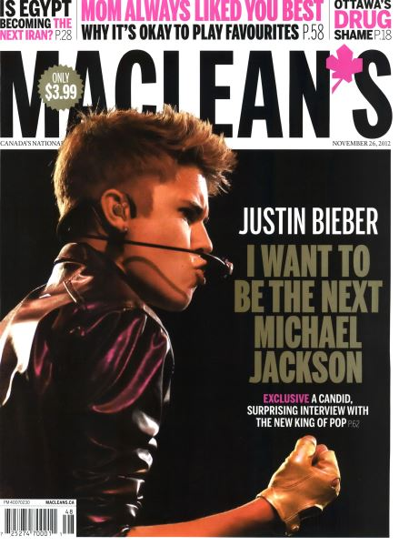 Issue: - November 2012 | Maclean's