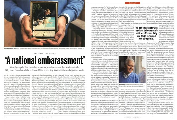 Article Preview: 'A national embarassment', November 2012 | Maclean's