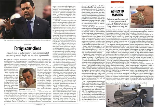 Article Preview: Foreign convictions, November 2012 | Maclean's