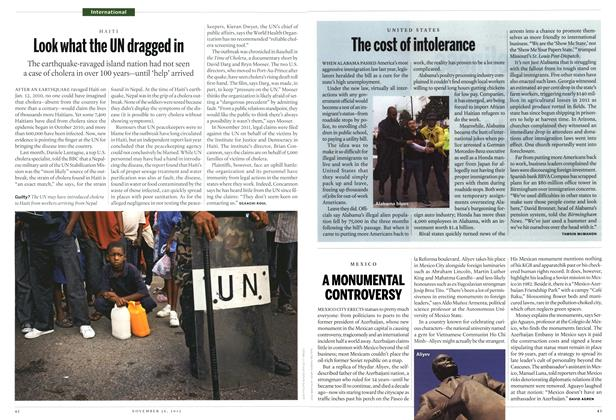 Article Preview: The cost of intolerance, November 2012 | Maclean's